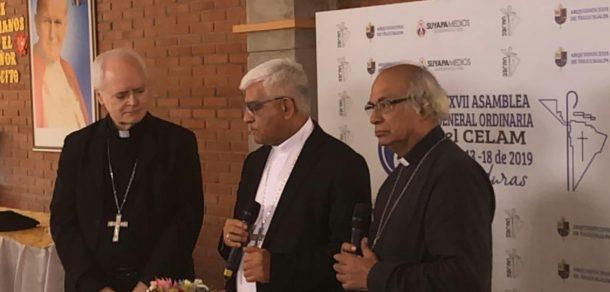 Monseñor Martínez y Monseñor Benítez, Presidente y Secretario General de la CEP, respectivamente, se encuentran participando de la reunión general del Consejo Episcopal Latinoamericano (CELAM)