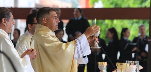 Primer día del Novenario en Honor a Nuestra Señora de los Milagros de Caacupe