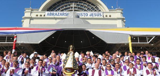 Sexto día del Novenario en Honor a Nuestra Señora de los Milagros de Caacupe