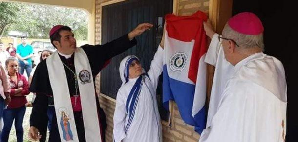 Inauguración de la Casa de las Hermanas de Calcuta