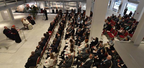 El Papa inauguró la nueva estructura del Museo Etnológico