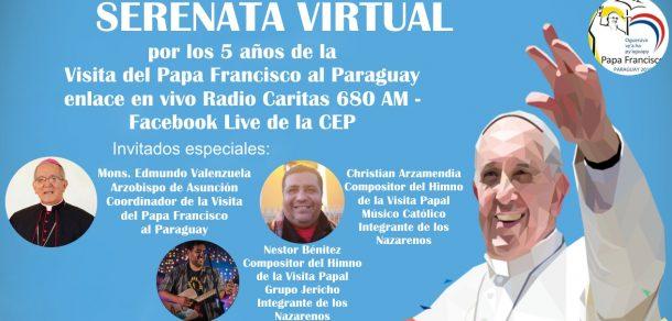 Segundo día del recordatorio de la visita del papa Francisco a nuestro país