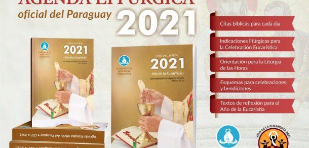 Agenda litúrgica de la CEP en venta