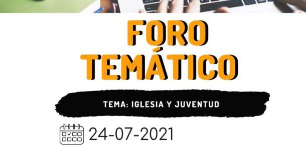 """Pastoral de Juventud del Paraguay convoca a participar del foro temático """"Iglesia y Juventud"""""""